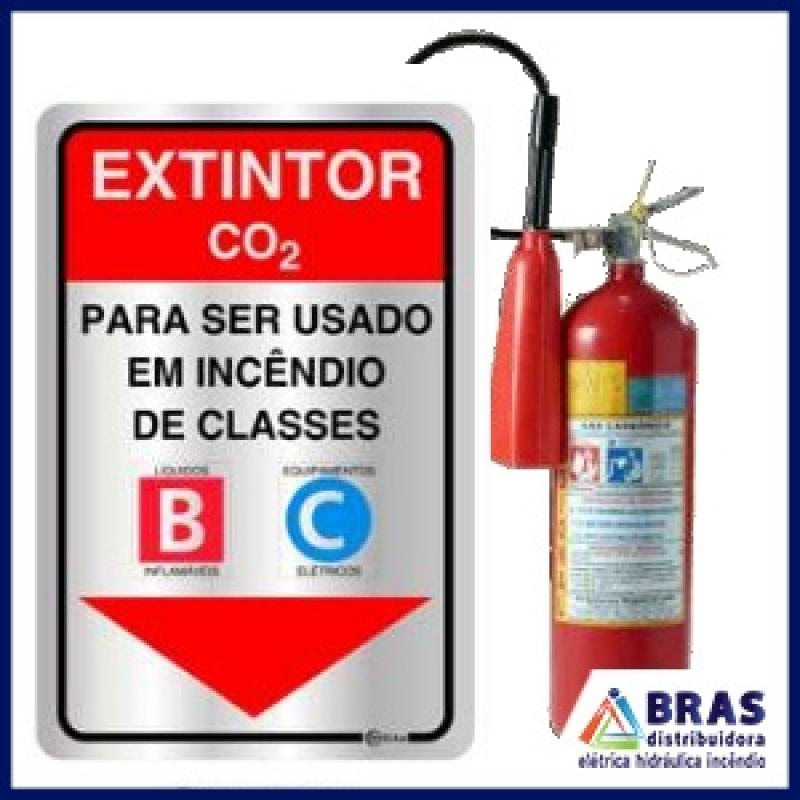 Fornecedor de Extintor de CO2 Mogi das Cruzes - Extintor de Incêndio em Estabelecimento Comercial