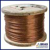 cabo de cobre para SPDA preço Vila Matilde