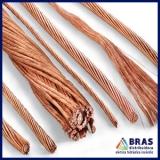 cabos de cobre para SPDA Perus