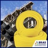 conduítes para cabos de redes Vila Romana