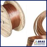 distribuidor de cabo de cobre para SPDA Vila Leopoldina