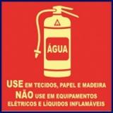 extintor de incêndio de água Brasilândia