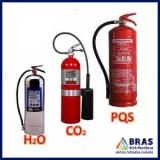 extintor de incêndio de CO2 preço Mooca