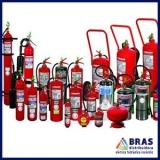 extintor de incêndio de pó químico Barra Funda