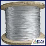 cabo de alumínio para SPDA