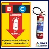 fornecedor de extintor de incêndio de pó químico Jardim Bonfiglioli
