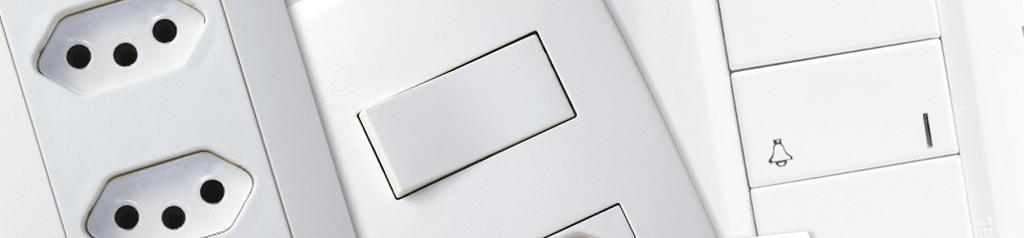 Tomadas, Interruptores e Placas
