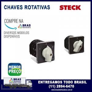 Chave rotativa monofasica