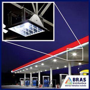 Luminária para posto de gasolina